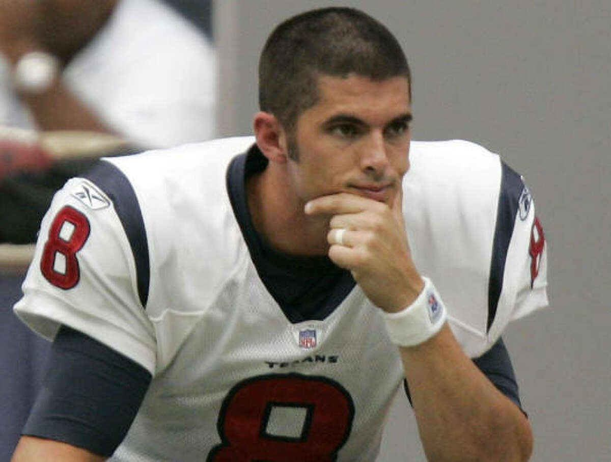 Texan with cover-boy potential: David Carr