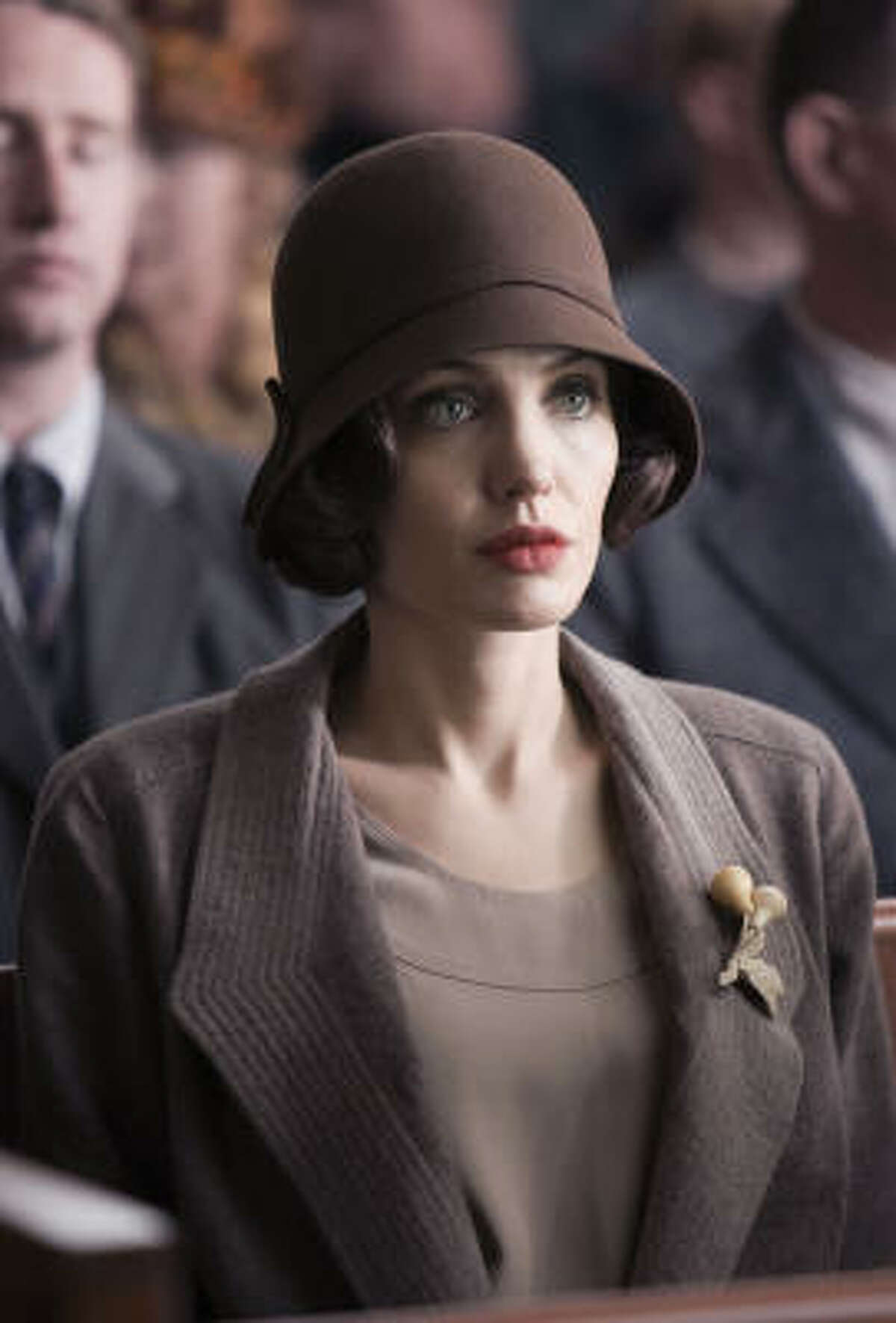 Angelina Jolie stars as Christine Collins in director Clint Eastwood's, Changeling. The film is now available on DVD.