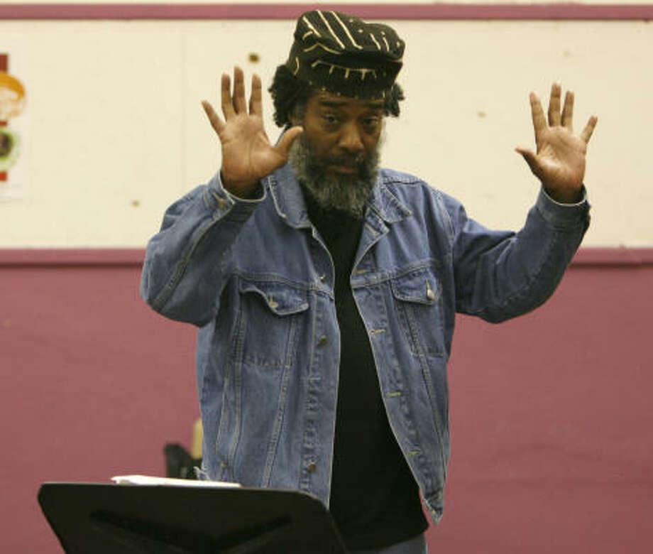"Wadada Leo Smith says, ""Making art is like making a big bang kind of creation every day."" Photo: KAREN WARREN, Chronicle"