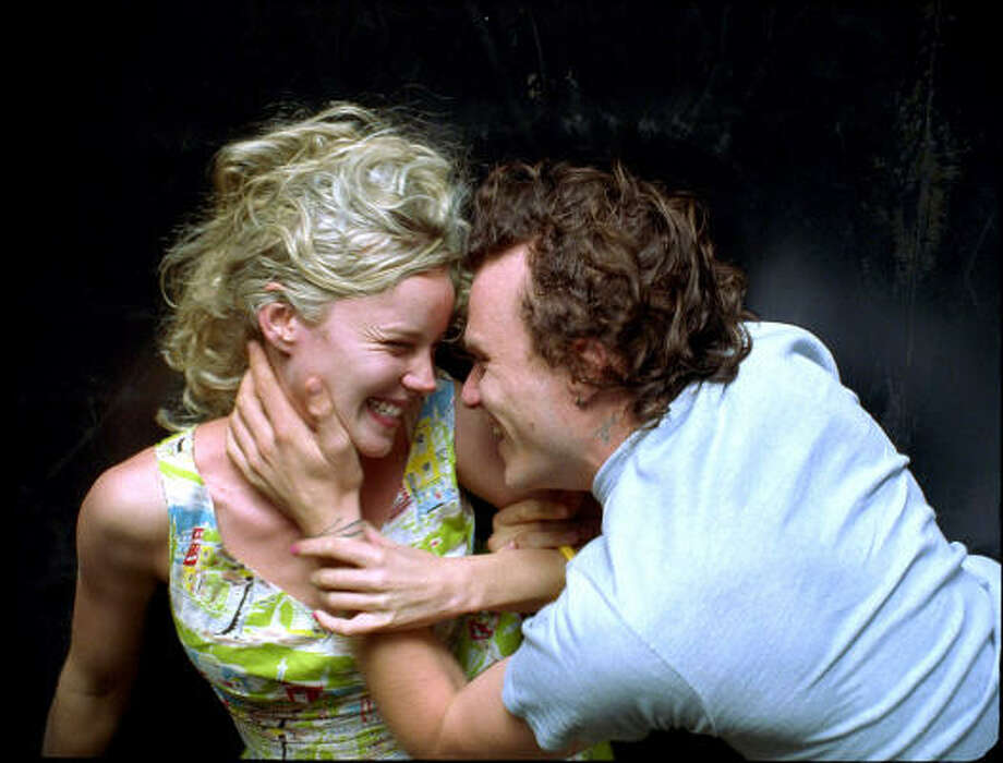 Abbie Cornish and Heath Ledger star in Candy. Photo: Courtesy Photo