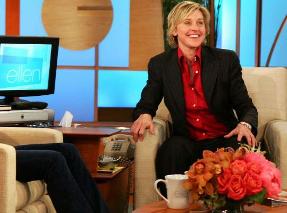 The Writers Guild claims that some monologues performed by Ellen DeGeneres, who is a WGA member, violated guild rules.