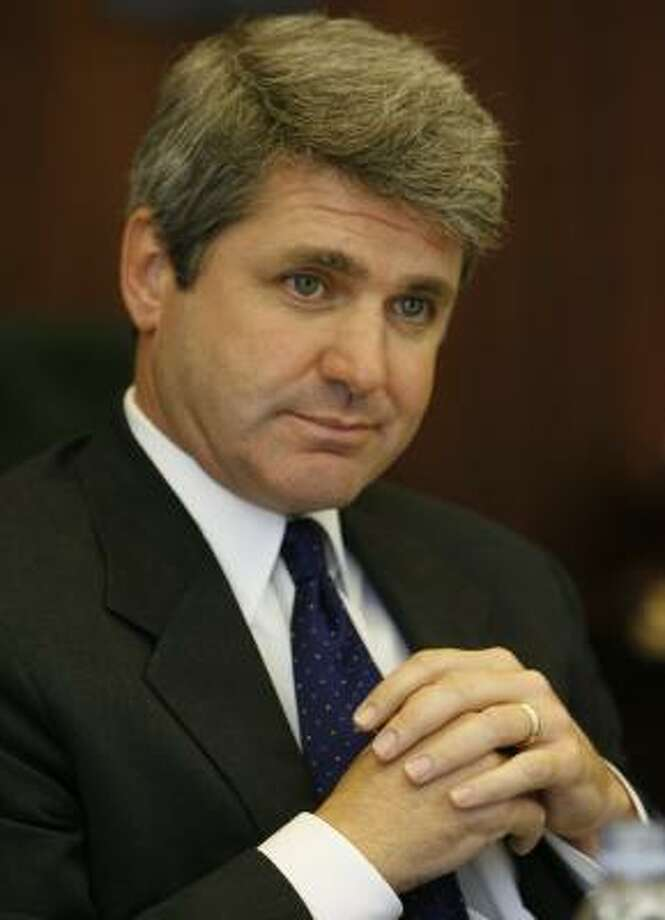 "Rep. Michael McCaul, whose name was attached to $20 million in earmarks this budget year, says the system needs ""transparency."" Photo: Carlos Antonio Rios, CHRONICLE FILE"