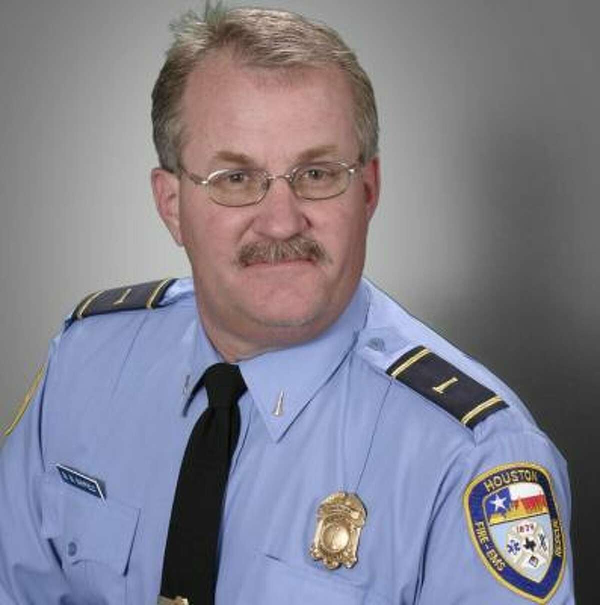 Capt. Michael Mayfield has been with the Fire Department for 34 years.
