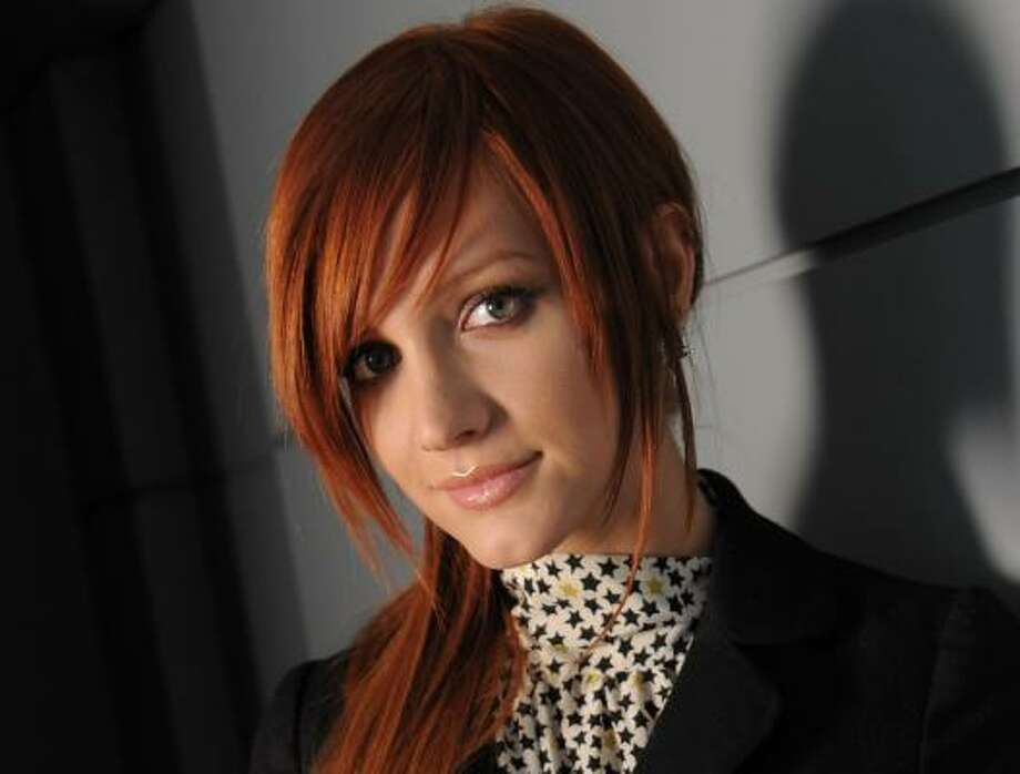 Ashlee Simpson recorded Bittersweet World with help from collaborators Timbaland and Chad Hugo. Photo: EVAN AGOSTINI, ASSOCIATED PRESS