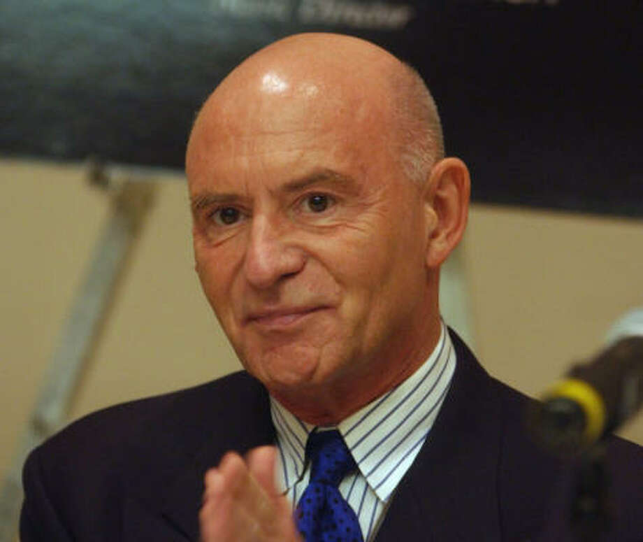 Christoph Eschenbach became music director of the Philadelphia Orchestra in 2003 Photo: JACQUELINE LARMA, Associated Press