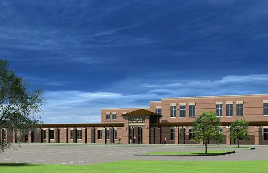 A rendering of the Opportunity Awareness Center/Raines High School/Behavior Transition Program. Photo: Handout, Katy ISD