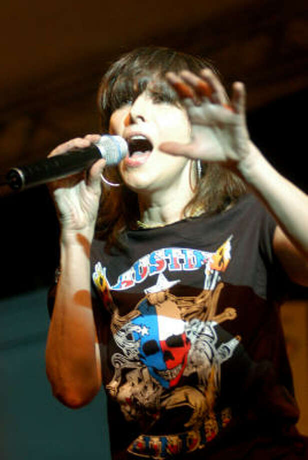 Chrissie Hynde, seen at a 2006 SXSW performance in Austin, will sing at a free concert at the grand opening of the upscale restaurant on Sept. 15. Photo: Ha Lam, For The Chronicle File