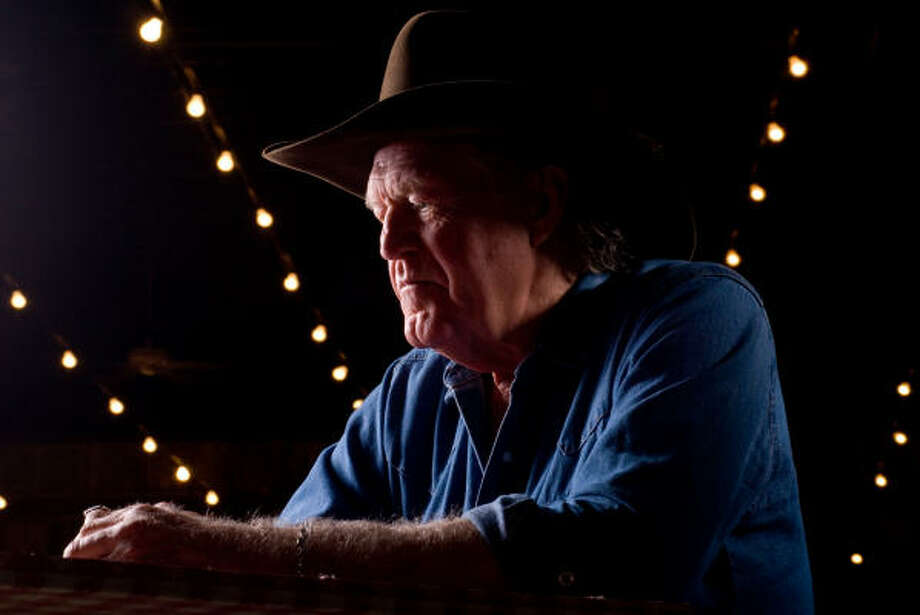 Billy Joe Shaver, 68, knows all about life's ups and downs, a fact that's all too evident in his lyrics. Photo: Wendi Poole, For The Chronicle