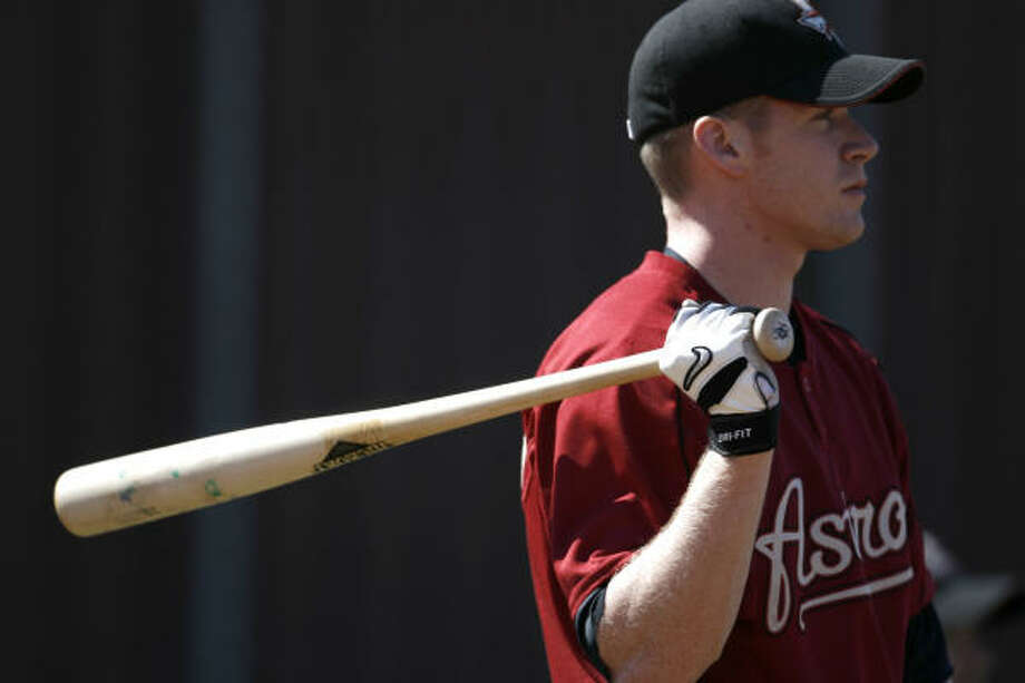 Josh Anderson is among the prospects who are giving the Astros hope for 2008. Photo: KAREN WARREN, Chronicle