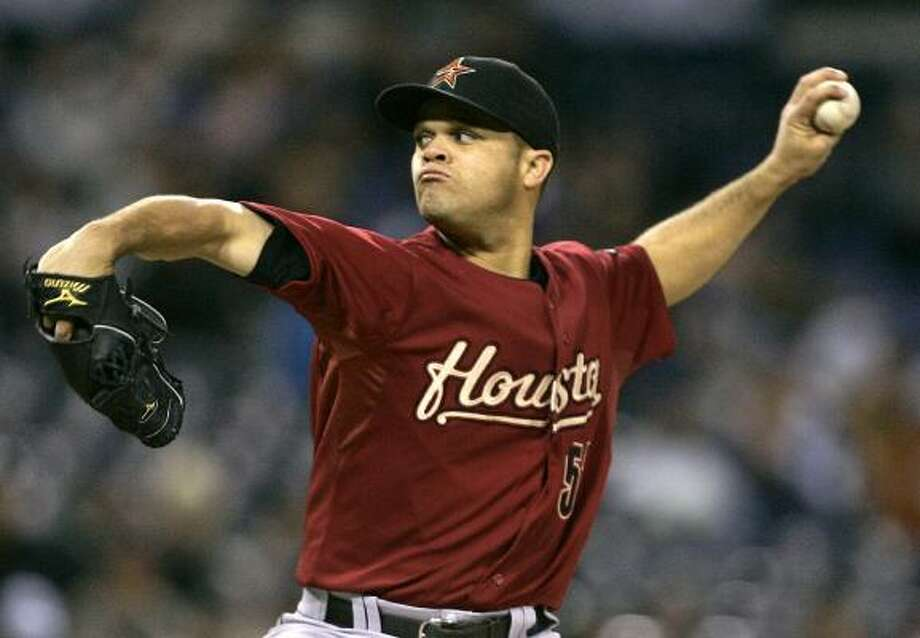 Wandy Rodriguez gets the start in the home opener. Photo: Lenny Ignelzi, AP