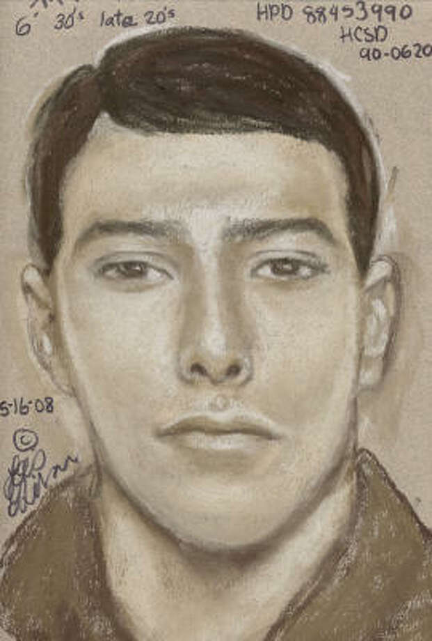 Investigators have released a composite sketch of the suspect in a 1990 rape of an exotic dancer. Photo: HPD