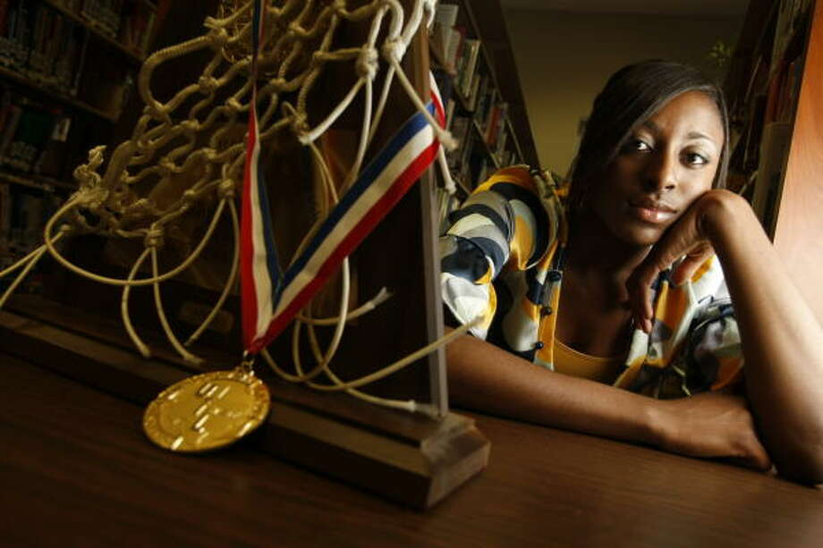 Cy-Fair High School Nneka Ogwumike is this year's all-greather Houston girl's player of the year. Ogwumike has become a household name in the area -- she's a two-time Parade All-American, a McDonald's All-American and the Gatorade National Player of the Year. Photo: Kevin Fujii, Chronicle