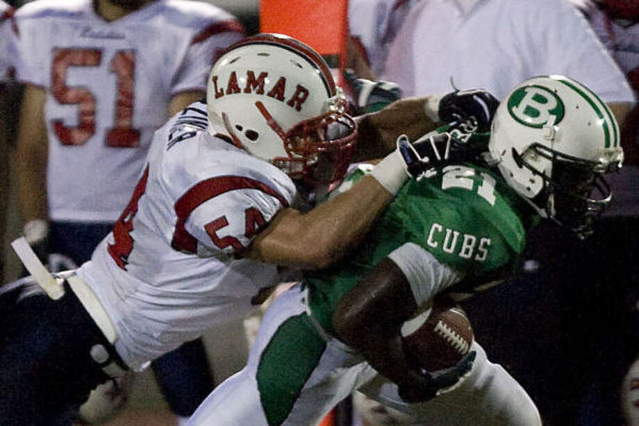Brenham (above) and Huntsville are expected to be the top teams in District 18-4A. Photo: Bob Levey, For The Chronicle