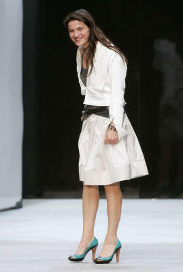 Croatian designer Ivana Omazic. Photo: JACQUES BRINON, Associated Press