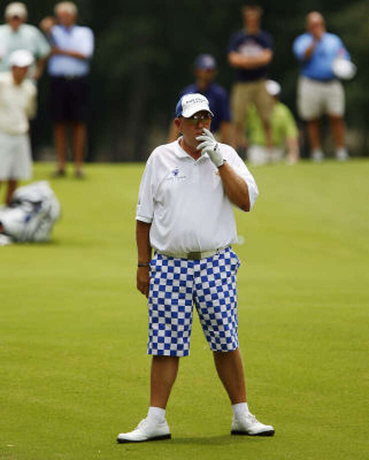 John Daly managed only four birdies over 36 holes of a U.S. Open qualifier, missing one of the 13 spots. Photo: Lance Murphey, AP