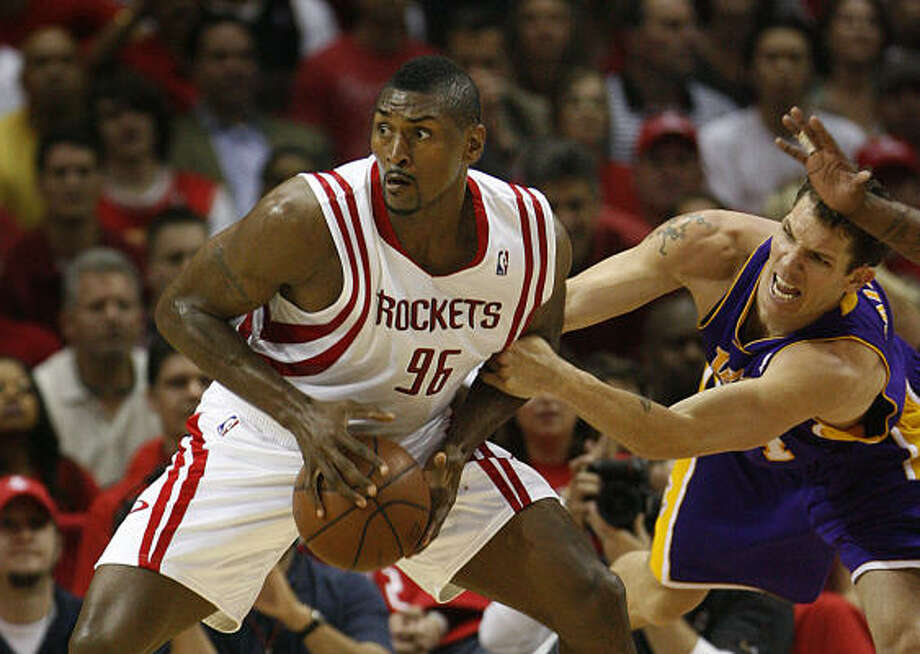 Ron Artest and his agent are confident that the Rockets have the depth and roster flexibility to make moves without stepping back to rebuild. Photo: Nick De La Torre, Chronicle