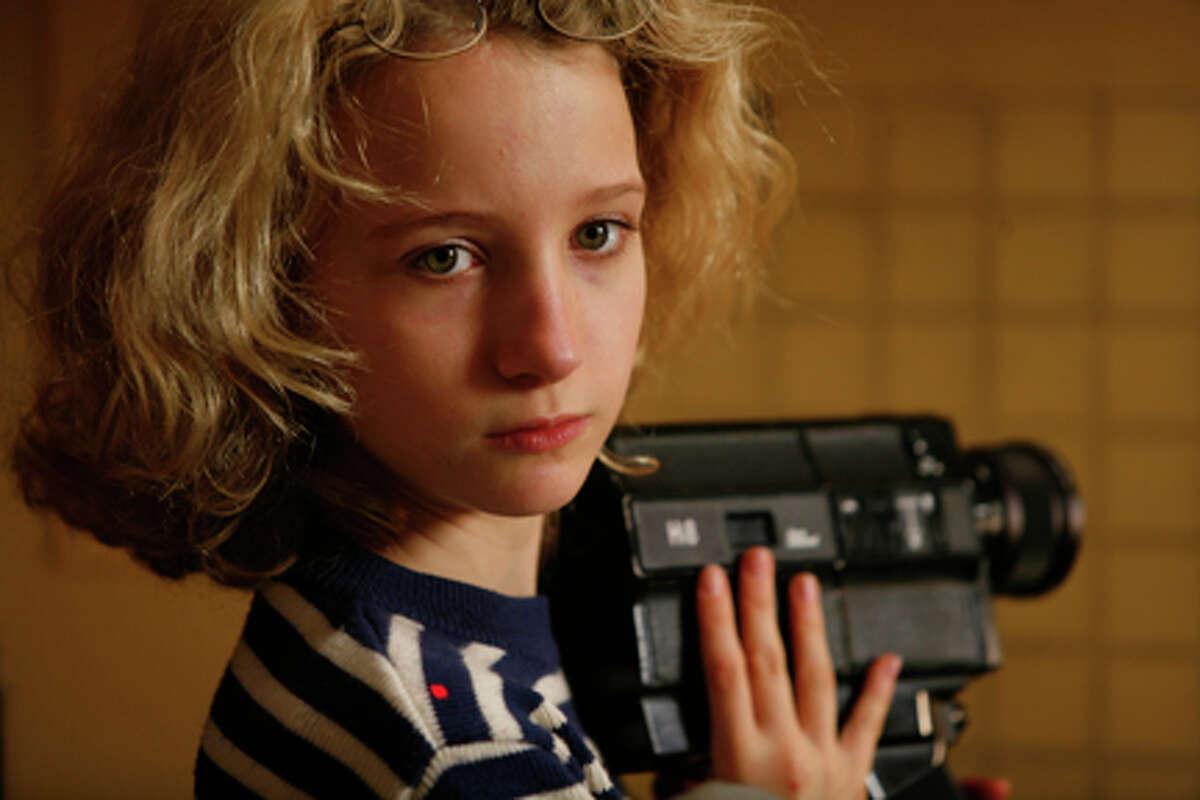 "Garance Le Guillermic as Paloma Josse in ""The Hedgehog."""
