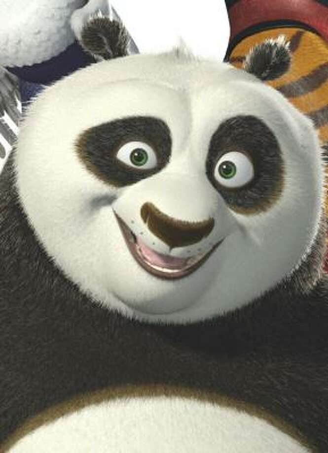 Po the Panda Photo: Patrick Ecclesine, DreamWorks Animation LLC