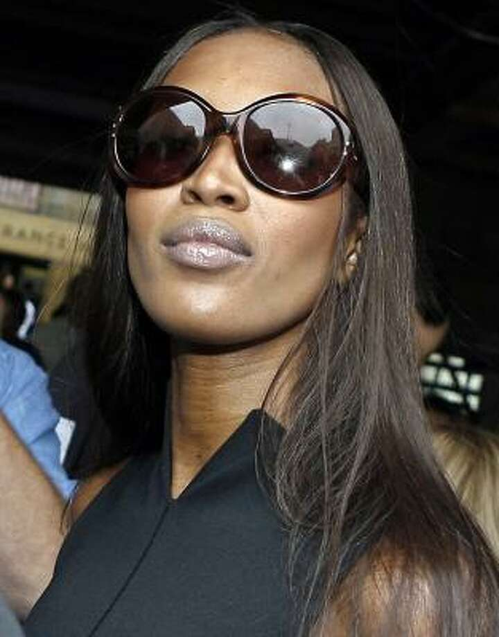 Naomi Campbell exits Manhattan Criminal Court, in New York City, June 27. Photo: PETER FOLEY, REUTERS
