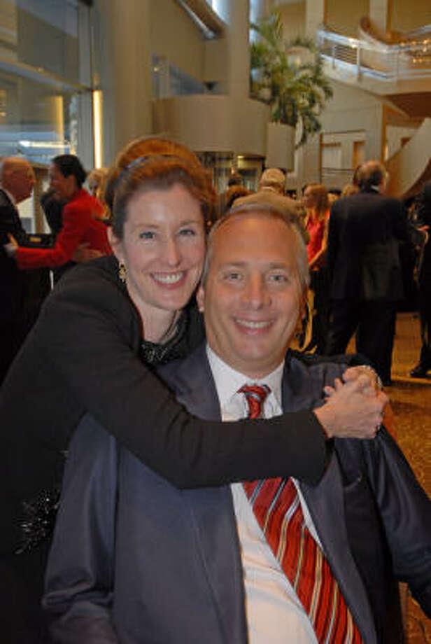 Phoebe and Bobby Tudor Photo: Tony Bullard, FOR THE CHRONICLE