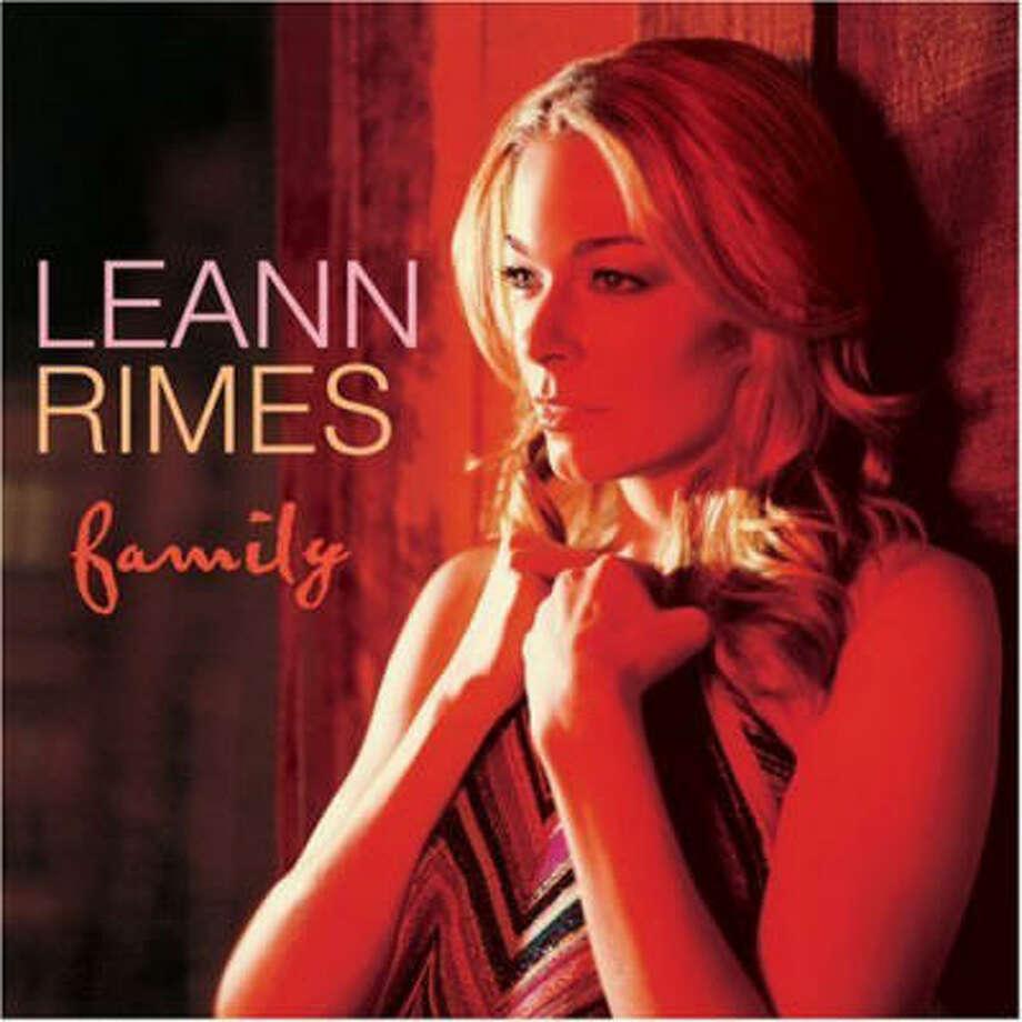 LeAnn Rimes' latest album,  Family Photo: Curb Records