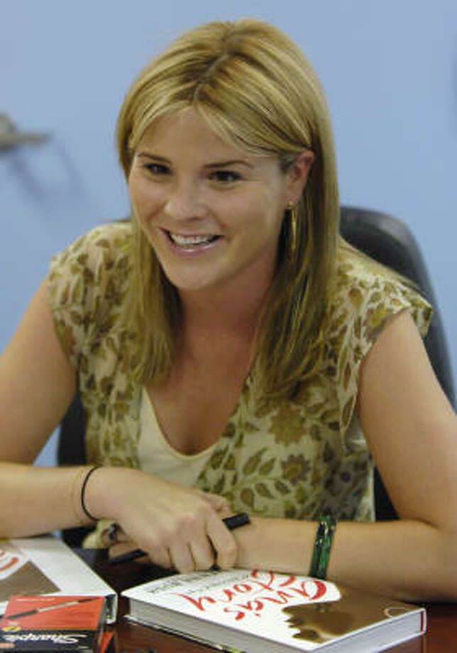 Extended tours are unusual for first-time authors, but Jenna Bush will be selling and signing books in 26 cities before she's done. Here she is in Annapolis, Md. Photo: Gail Burton, Associated Press