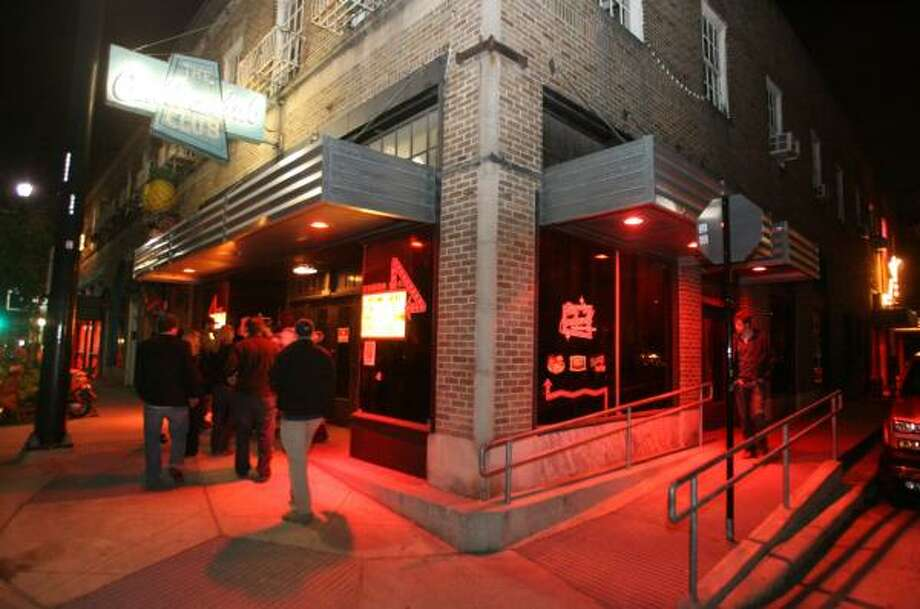 The Continental Club is the cornerstone of a whole block of cool. Photo: BILL OLIVE, FOR THE CHRONICLE