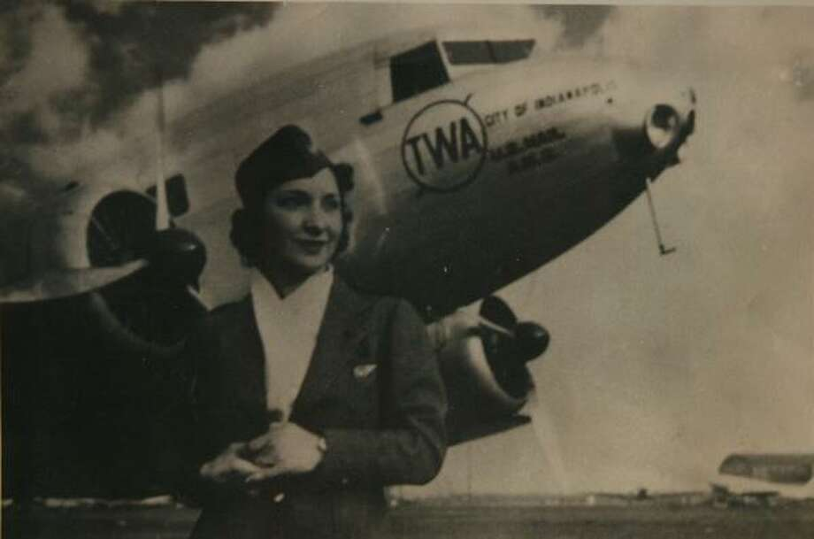 """Ivy Arthur Bale first decided to join TWA in 1936, a short time after the airline began hiring women to work as """"flight hostesses."""" Photo: FAMILY PHOTO"""