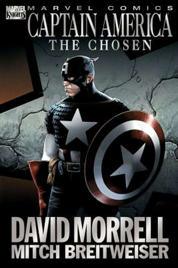 The cover of Captain America: The Chosen. Photo: MARVEL ENTERTAINMENT
