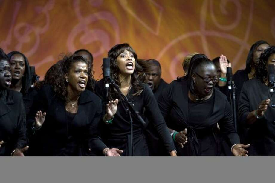 The Church at Bethel's Family performs during the How Sweet The Sound regional church choir competition. Photo: JOHNNY HANSON, CHRONICLE