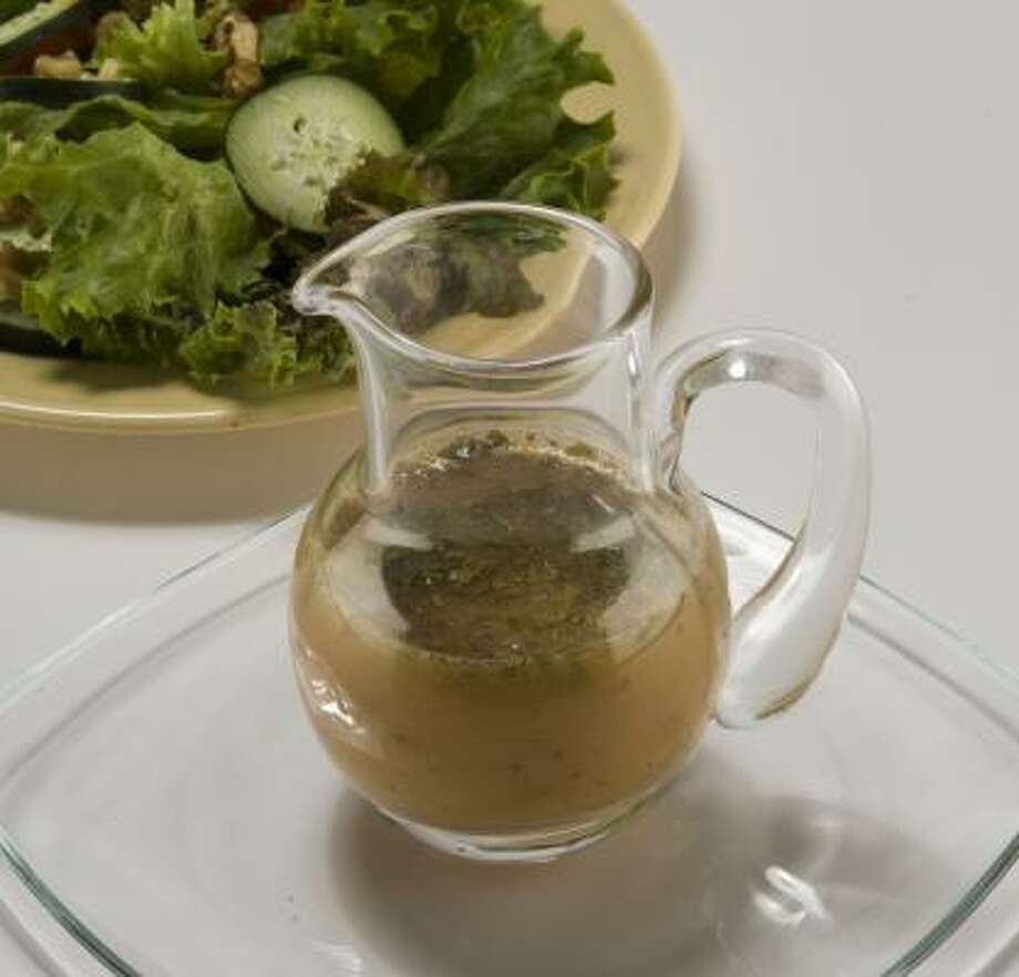 Honey-Lime Vinaigrette zips with the added tastes of cilantro and Grey Poupon mustard. Photo: STEVE UECKERT:, CHRONICLE