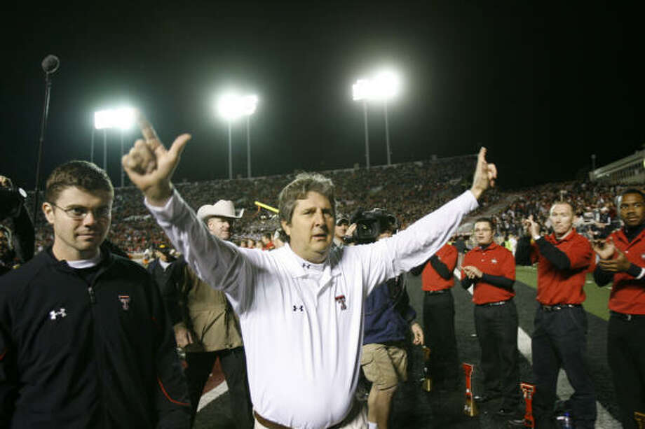 When it comes to the BCS system, Jerome Solomon has a simple solution for teams: Don't worry just win. Photo: Nick De La Torre, HOUSTON CHRONICLE