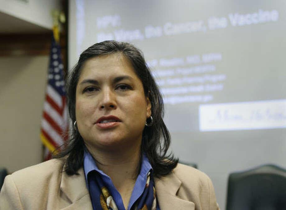 Rep. Jessica Farrar Photo: Harry Cabluck, AP