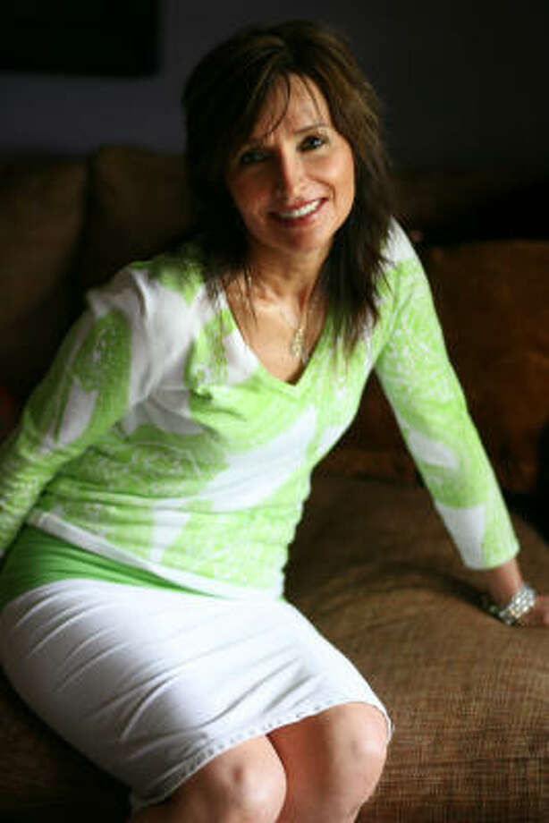 Mary Jo Rapini is a therapist who specializes in intimacy and sex counseling. She is co-author of Start Talking, a book on talking to your teens about sex. Photo: Sharon Steinmann, Chronicle