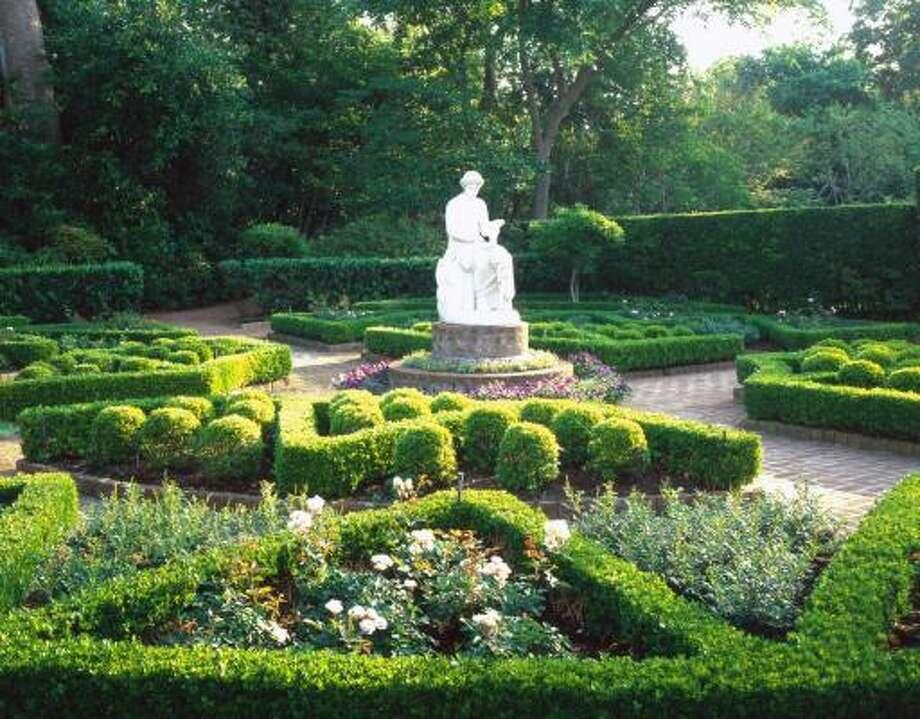 The Clio Garden at Bayou Bend. Photo: Bayou Bend