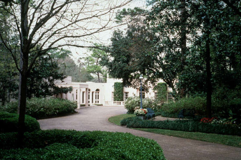 Rienzi, once home to Harris and Carroll Masterson, was designed by architect John Staub in 1952. It was named for Rienzi Johnston, Harris Masterson's grandfather. Photo: Museum Of Fine Arts, Houston