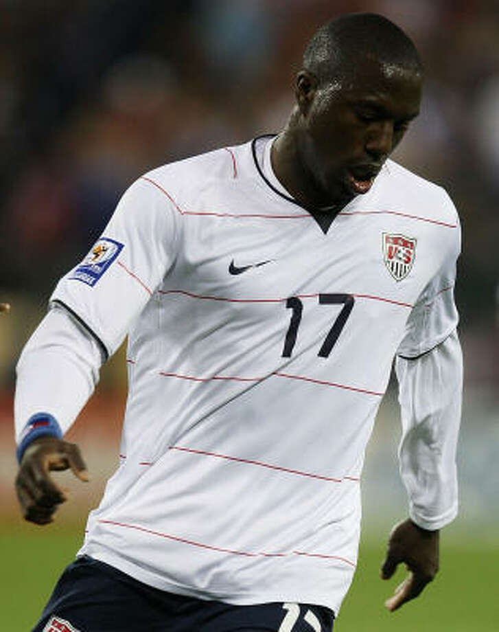 Jozy Altidore became the youngest American with an international hat trick, and the United States beat Trinidad and Tobago 3-0 Wednesday. Photo: Jonathan Daniel, Getty Images