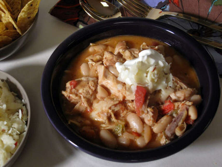 Texas chicken chili recipes