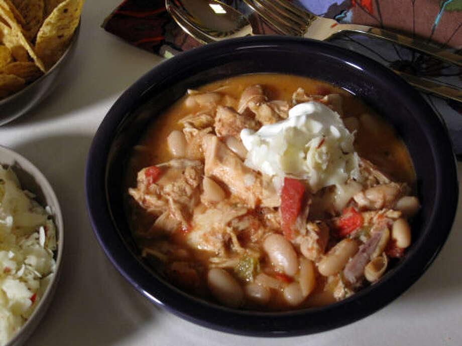 Mandi's White Chicken Chili Photo: THE RACHAEL RAY SHOW