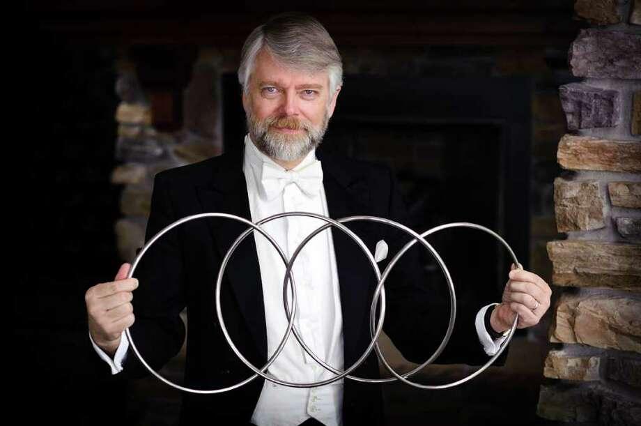 image of magician and deceptionist Richard Hatch Photo: Levi Sim
