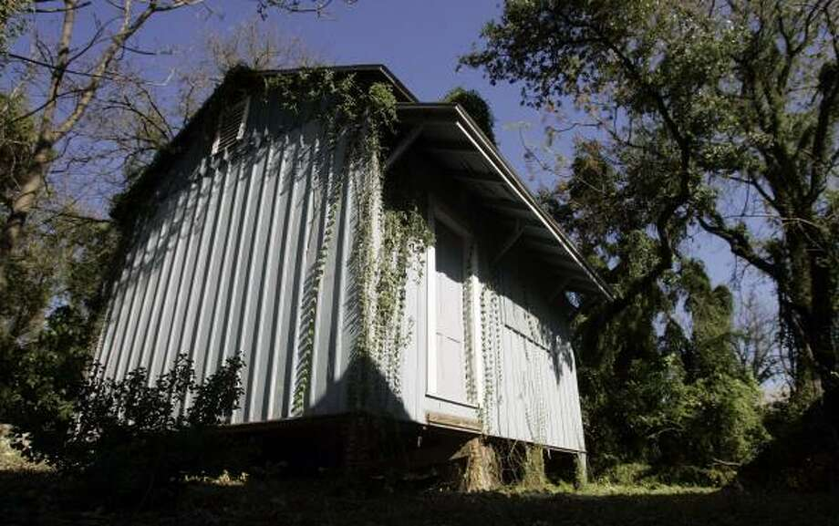 Officials from the Witte Museum hope to get approval from San Antonio's historic review commission to move this weather-worn studio that once belonged to impressionist landscape painter Julian Onderdonk to the museum grounds. Photo: Eric Gay, Associated Press