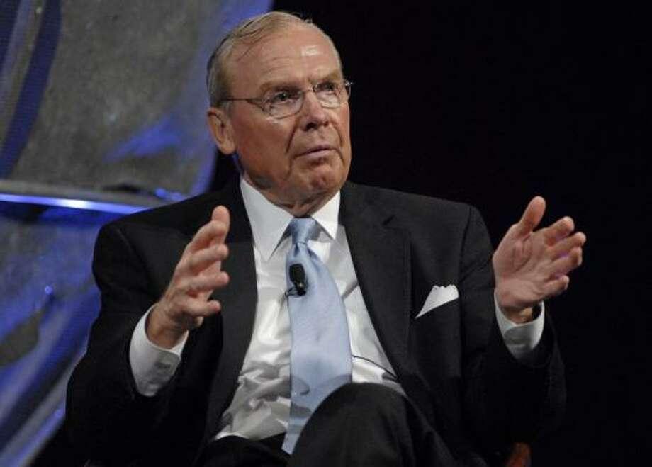 Jon M. Huntsman, founder and chairman of the Huntsman Corp. Photo: MIKE MERGEN, BLOOMBERG NEWS