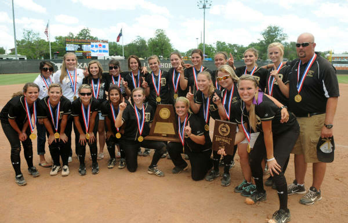 June 4: Danbury 9, Nacodoches Central Heights 1 The Danbury Panthers defeated Central Heights to capture the Class 2A State Softball Championship at McCombs Field in Austin on Saturday.