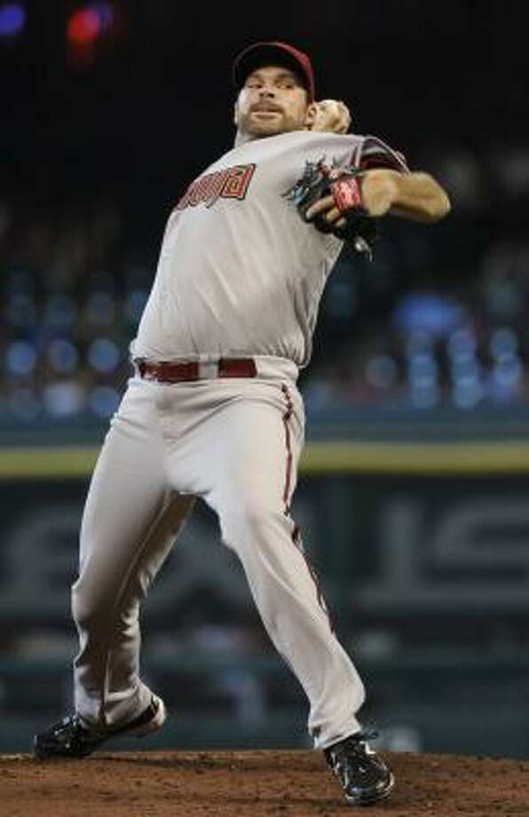 Diamondbacks pitcher Josh Collmenter made his fourth start of the season, allowing two runs in six innings. Photo: Pat Sullivan, Associated Press