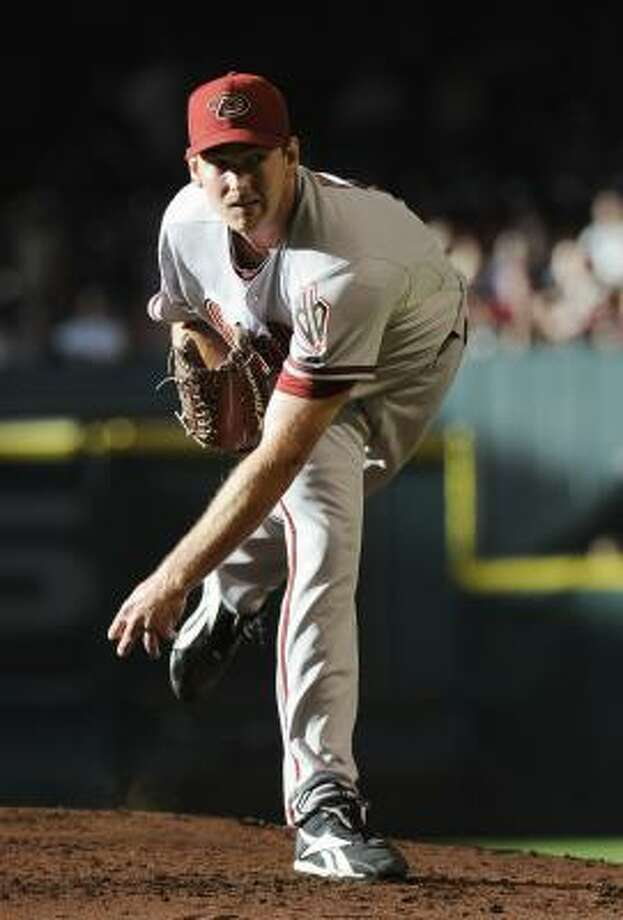 Diamondbacks pitcher Zach Duke threw seven scoreless innings in his first start of the season. Photo: Pat Sullivan, Associated Press