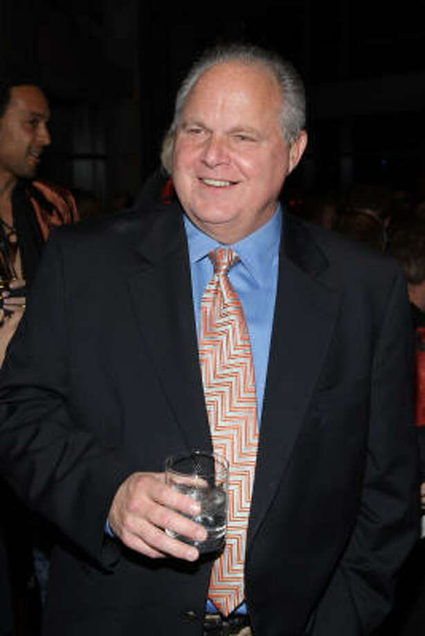 No. 23 Rush Limbaugh $64 M Photo: Stephen Lovekin, Getty Images