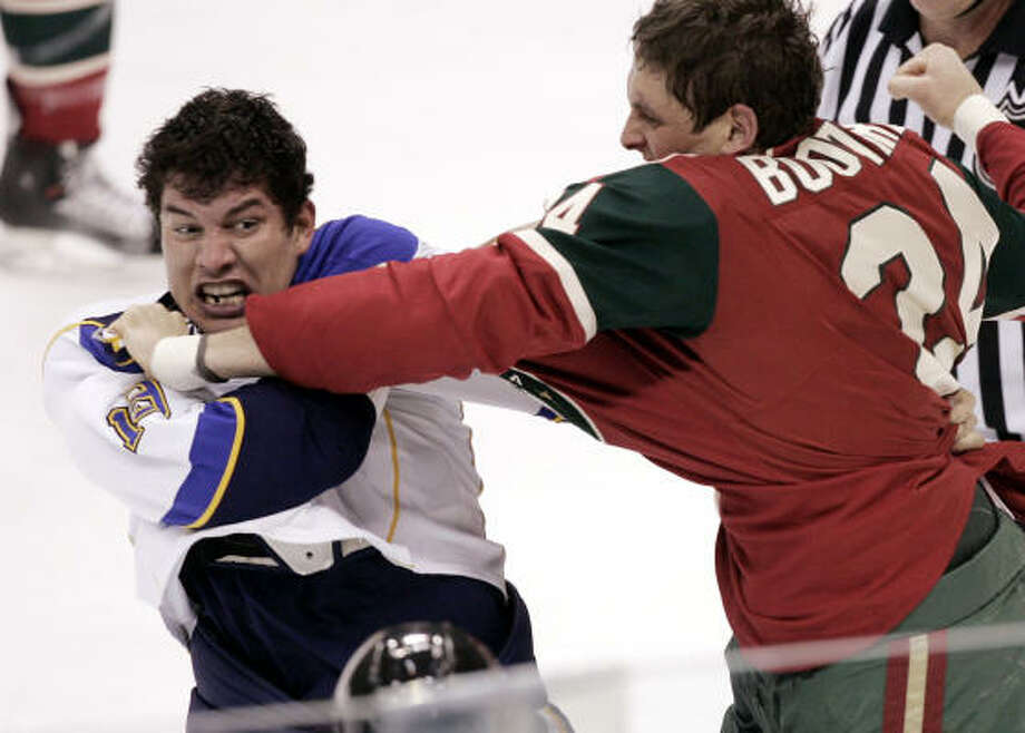 Derek Boogaard June 23, 1982 – May 13, 2011  Photo: Jim Mone, AP