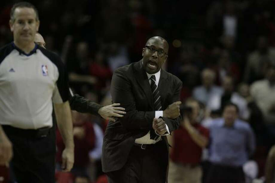 Proven commodities   Mike Brown Former Coach of Year with Cavaliers, brings a defensive emphasis. Photo: Billy Smith II, Chronicle
