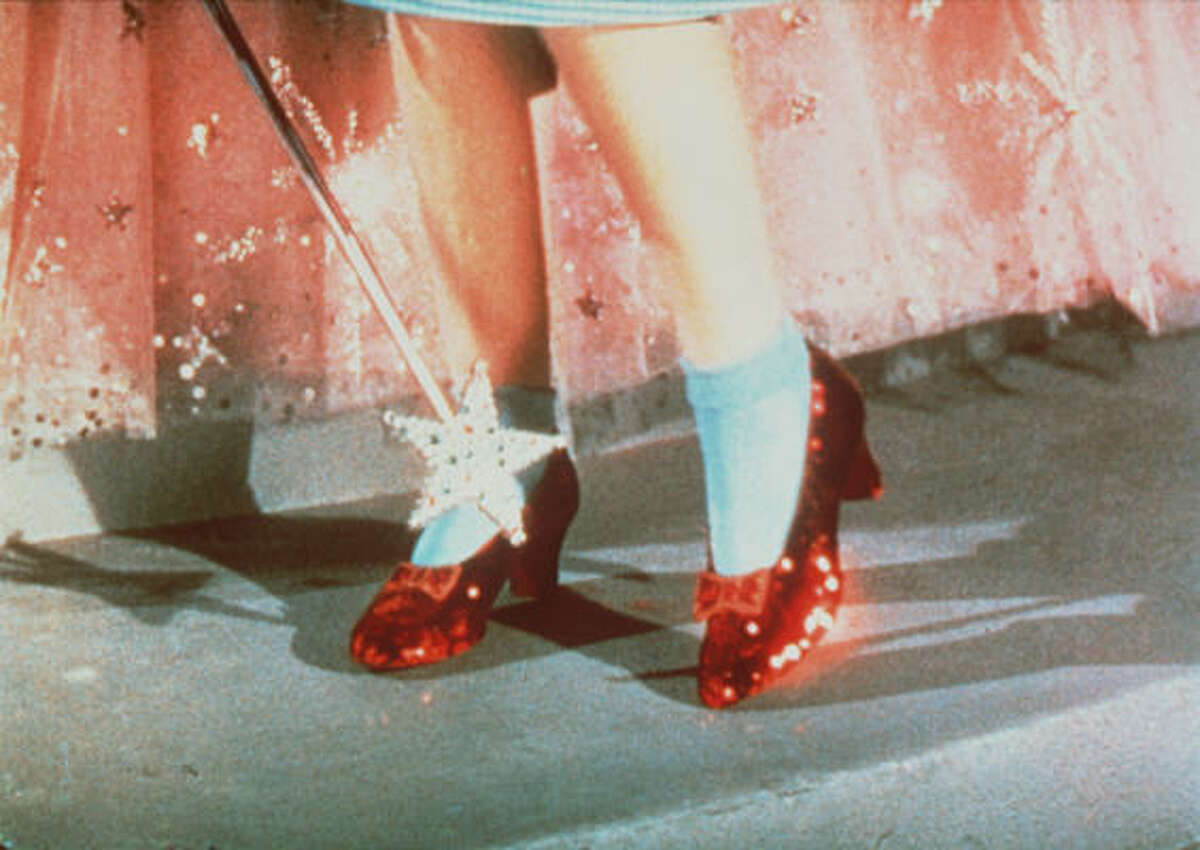 Dorothy's ruby slippers from the movie