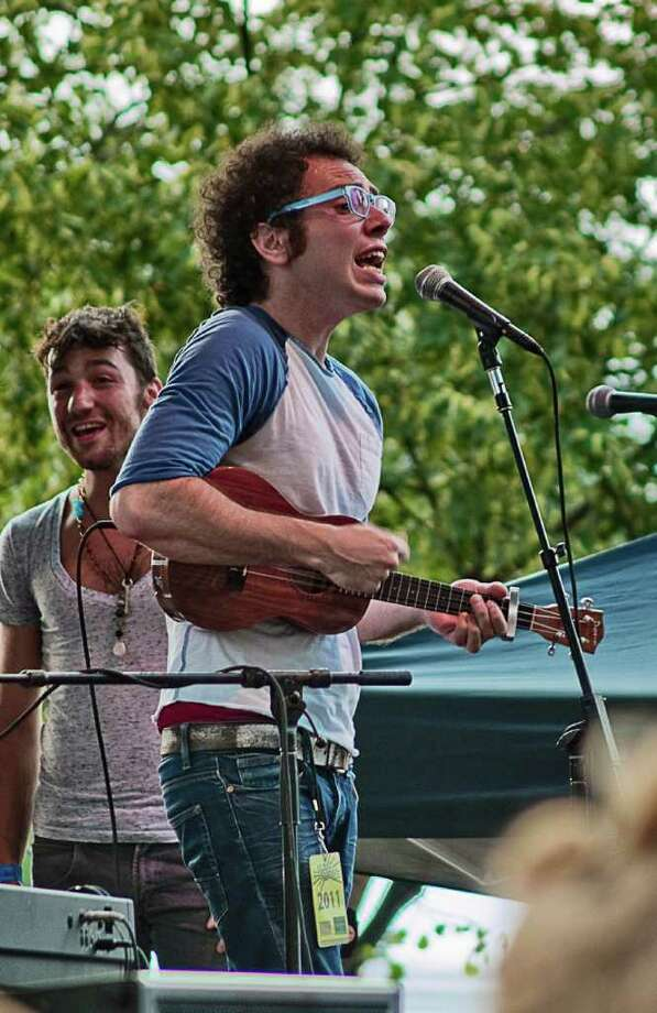Stamford's Alive @ 5 on July 28 included performances from Blip Blip Bleep, Ian Axel and was headlined by Five for Fighting. Photo: Mike Macklem / Hearst Connecticut Media Group